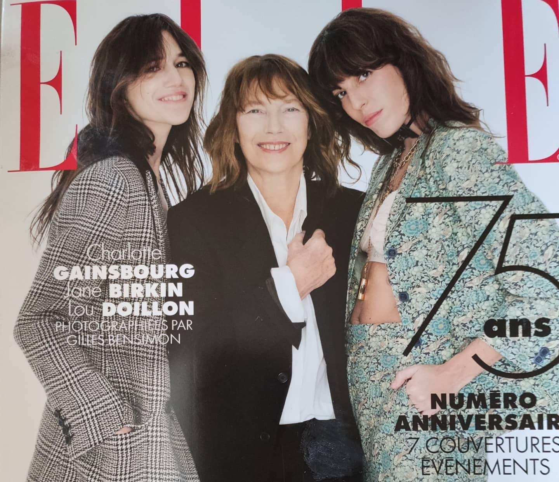 Couverture_Magazine ELLE_75eme anniversaire_la presse en parle_Les ateliers d'Aude-Valérie